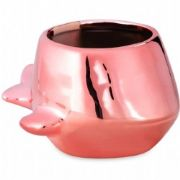 CACHEPOT BALEIA ROSE GOLD
